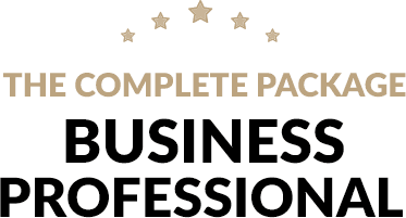 business professional website design package