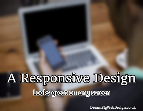 Responsive design info graphic